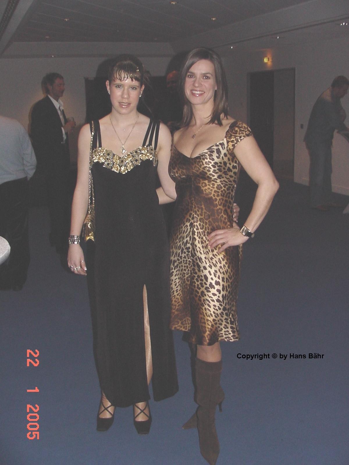 Jennifer B�hr und Katarina Witt